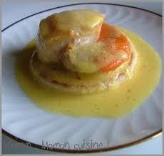 cuisiner les noix de st jacques noix de st jacques crème au safran express mais raffiné