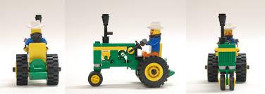 lego ideas classic tractor john deere