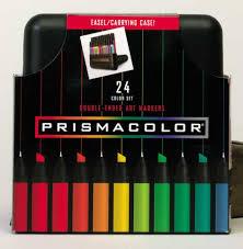 prismacolor marker set prismacolor color markers 24 color set