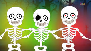 Skeletons For Halloween by Five Little Skeletons Scary Nursery Rhymes For Kids Halloween