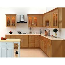 wooden kitchen design l shape wooden l shaped kitchen