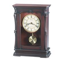 Amazon Mantle Clock Home Decor Wood Mantle Clock Key Wound Mantel Clocks Bulova