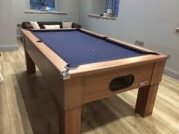 Slate Bed New Dark Walnut U2013 Square Leg U2013 Slate Bed U2013 Home Pool Table