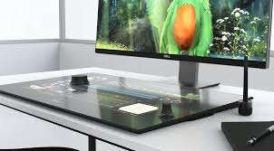 ultimate desk setup dell launches canvas worksurface and 8k monitor for the ultimate