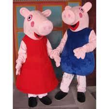 Peppa Pig Halloween Costume Peppa Pig Mascot Costume Free Shipping