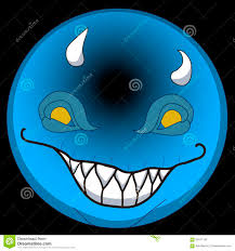 halloween background emoji vector emoji smiley face 2d for happy halloween monster smilling