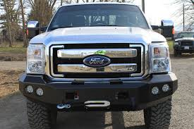 Ford F350 Truck Grills - red goat fab ford products