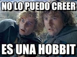 Hobbit Meme - la hobbit no lo puedo creer en memegen