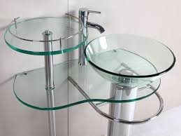 Tiny Bathroom Sink by Bathroom Bowl Vessel Small Bathroom Sink Made Of Glass Combined