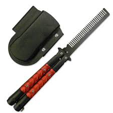 butterfly comb butterfly comb comb knives butterfly knife comb