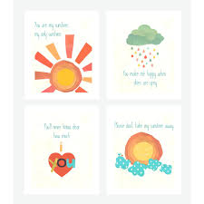 wall ideas childrens wall art stickers australia childrens childrens bedroom wall stickers removable children inspire design 4 piece you are my sunshine print childrenu0027s wall art set childrens wall art canada