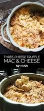 three cheese brown butter truffle mac and cheese bijoux u0026 bits