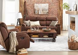 Reclining Sofas Canada by Morrow Reclining Sofa Saddle Brown Leon U0027s