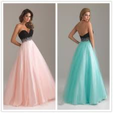 dresses to wear to a formal wedding tutu strapless pink blue chiffon sequins wedding bridesmaid