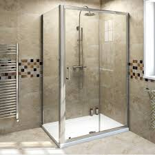 Rain X For Shower Doors by Bathroom Cozy Walk In Shower Kits With Glass Shower Door And Rain