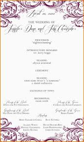 one page wedding program template best wedding bulletin template photos entry level resume