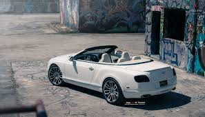 convertible bentley custom stylish street ride white bentley continental with chrome mesh