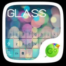 go keyboar apk app antagonis android free z glass go keyboard theme apk 3d