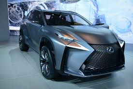 lexus suv blue lexus lf nx compact suv concept slices through detroit