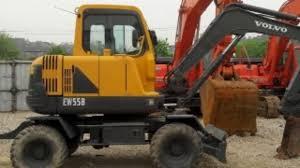 volvo ew55b compact wheel excavator service repair manual instant