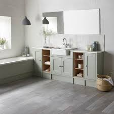 Bathroom Fitted Furniture Burford Pebble Grey Fitted Bathroom Furniture Roper