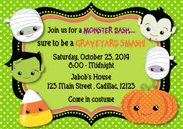 halloween kids cartoons halloween invitation kids u2013 festival collections