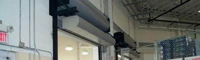 Air Curtains For Doors Berner Air Curtains And Air Doors National Overhead Door