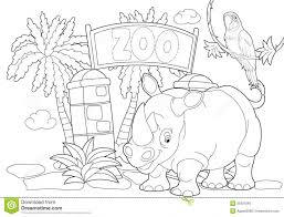 zoo drawing for children zoo animal coloring page animal coloring