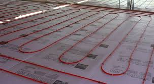 the benefit of radiant floor heating to keep the floor warm