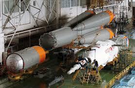 russian rocket body seen as a streak over arizona union of