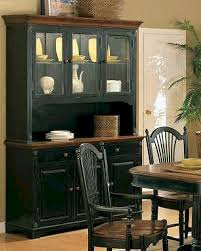 winners only cottage cherry ebony buffet hutch wo dc560bhce