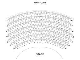 seating map the belfry theatre