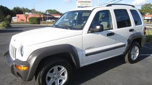 2004 jeep liberty mileage sold 2004 jeep liberty sport one owner 81k meticulous motors