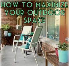 Apartment Patio Furniture by How To Maximize Your Balcony Patio Outdoor Space U2013 The Decor Guru