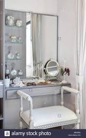 Vintage Style Vanity Table Vintage Style Dressing Room With Classic White Chair And Dressing
