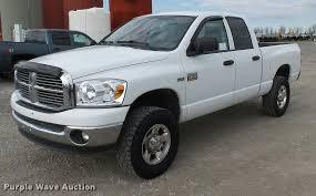 2008 dodge ram 2500 quad cab pickup truck item k3403 sol