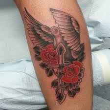 dove and cross tattoomagz