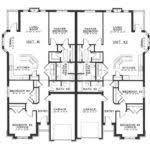 Dual Occupancy Floor Plans Duplex Designs Floor Plans Dual Occupancy Home Building Plans