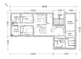 plan de maison 6 chambres ides de plan maison en u plain pied galerie dimages