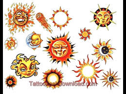 tattoo designs sketches u0026 ideas sun tattoos youtube