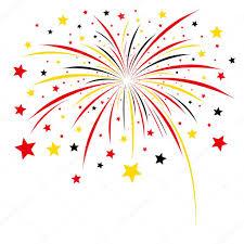 fuochi d artificio clipart disegno di fuochi d artificio su sfondo bianco vettoriali stock