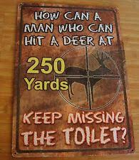Hunting Themed Home Decor Hunting Decor Ebay