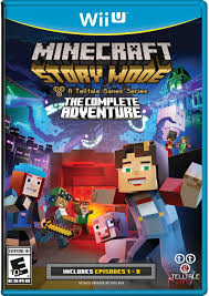 amazon wii u games black friday amazon com minecraft story mode the complete adventure wii u