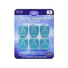 Comfort Dental Berkley Jensen Extra Comfort Dental Floss 6 Pk Bj U0027s Wholesale Club