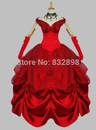 Halloween Costume Ball Gown Popular Halloween Costume Red Dress Buy Cheap Halloween Costume