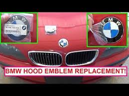 bmw e36 e46 e83 e39 e53 front emblem removal and replacement