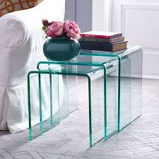 glass coffee table nest increase your surface area with these 15 nesting tables