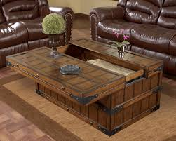 coffee table fabulous coffee table with storage rustic couch