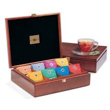 stash signature tea chest with assorted teas stash tea
