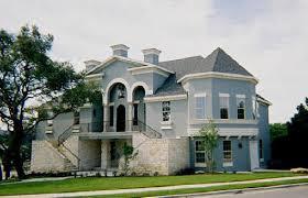 french provincial villa starter home plans